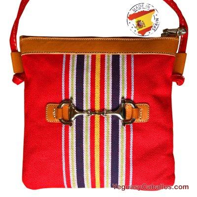 Tienda de pequeño bocado caballos campero rojo bandolera Bolso 7AfqU