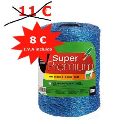 * Oferta Hilo conductor azul Super Premium